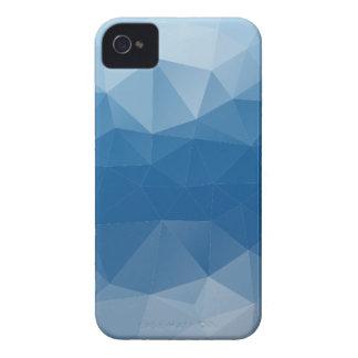 Blauw netwerk iPhone 4 hoesje