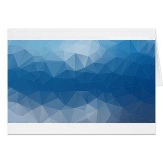 Blauw netwerk kaart
