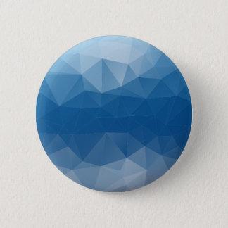 Blauw netwerk ronde button 5,7 cm