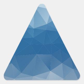 Blauw netwerk sticker