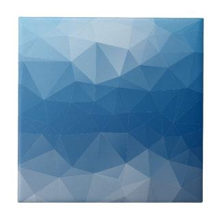 Blauw netwerk tegeltje