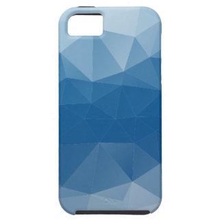 Blauw netwerk tough iPhone 5 hoesje