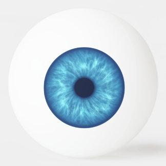 blauw oog pingpongbal