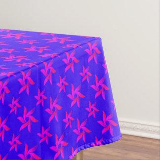 Blauw & Paars Decoratief geometrisch patroon Tafelkleed