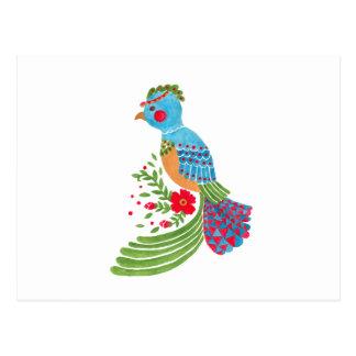 Blauw Quetzal Briefkaart