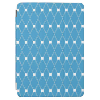 Blauw Rooster Argyle iPad Air Cover