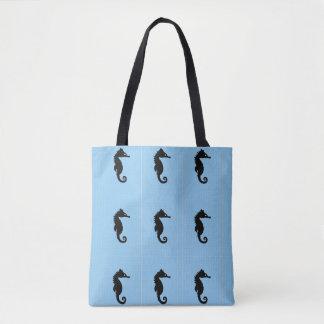 Blauw seahorsebolsa draagtas