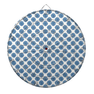 Blauw stip dartbord