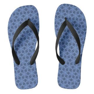 Blauw teenslipper teenslippers