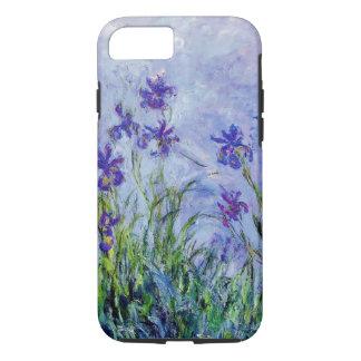 Blauw van de Lila Irissen van Claude Monet het iPhone 8/7 Hoesje