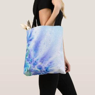 Blauw Violet Gebied van de Abstracte Waterverf van Draagtas