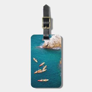 Blauw Water Kayaking Bagagelabel