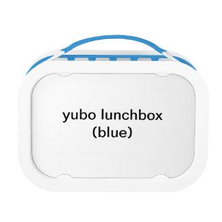 (blauw) yubolunchbox