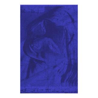 Blauwe Bezinningen Gpersonaliseerd Briefpapier