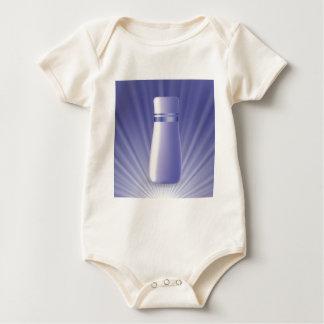 blauwe buis baby shirt