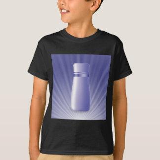blauwe buis t shirt