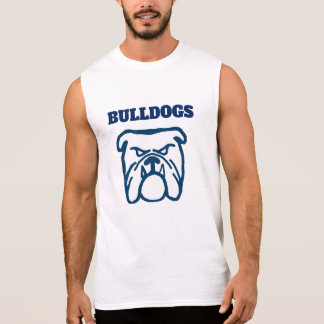 Blauwe Buldog T Shirt