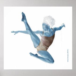 Blauwe Danser Poster