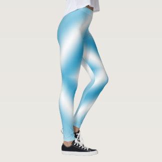 Blauwe de diamantgradiënt van de leggings