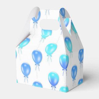 Blauwe de gunstdoos van de Ballon van de Bedank Doosjes