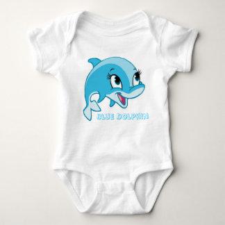 blauwe dolfijn romper