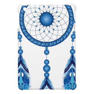 Blauwe Dreamcatcher iPad Mini Cases