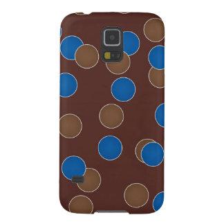 Blauwe en Bruine Ballen Hoesjes Voor Galaxy S5