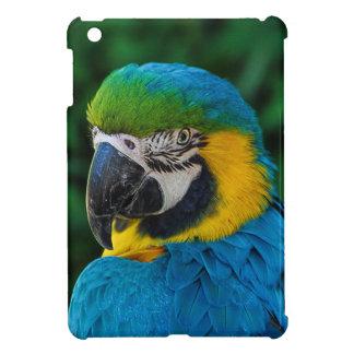 Blauwe en Gele Papegaai iPad Mini Case