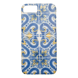 Blauwe en gele tegel, Portugal iPhone 8/7 Hoesje