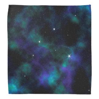 Blauwe en Groene Melkweg Bandana