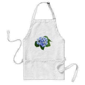 Blauwe en Paarse Hydrangea hortensia Standaard Schort