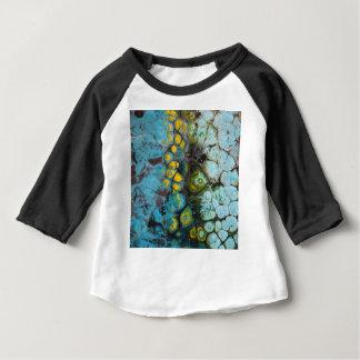 Blauwe Gelaagde Rots Baby T Shirts