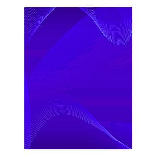 Blauwe Golven I Wenskaart