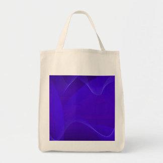 Blauwe Golven IV Canvas Tassen