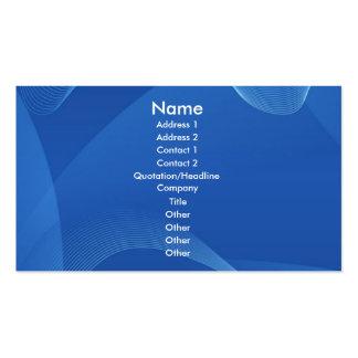 Blauwe Golven Visitekaartje