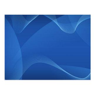 Blauwe Golven Wens Kaart