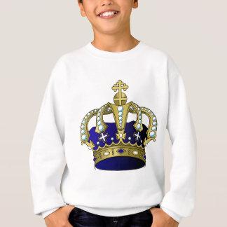 Blauwe & Gouden Koninklijke Kroon Trui