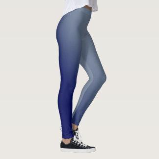 Blauwe Gradiënt Leggings