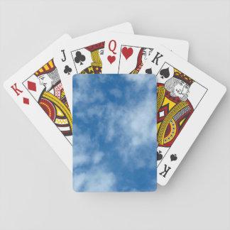 Blauwe Hemel met de Foto van Wolken Speelkaarten