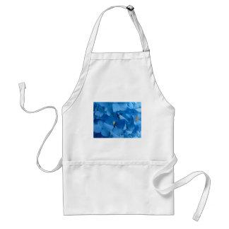 Blauwe Hydrangea hortensia's Standaard Schort
