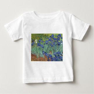 Blauwe Irissen Baby T Shirts