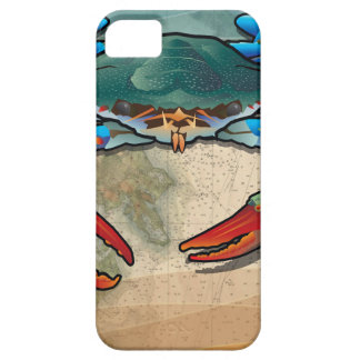 Blauwe Krab Barely There iPhone 5 Hoesje