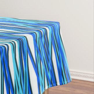 Blauwe Krommen Tafelkleed