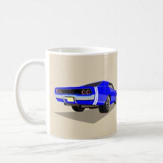 Blauwe 'Lader 68 Koffiemok