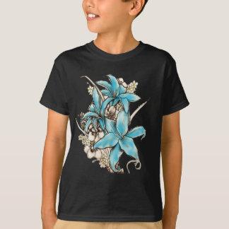 Blauwe Lelies T Shirt
