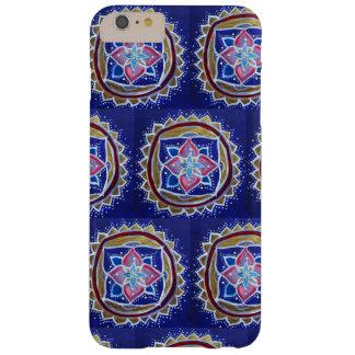 Blauwe Mandala iPhone 6/6s plus, nauwelijks daar Barely There iPhone 6 Plus Hoesje