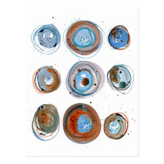 Blauwe Manen Briefkaart