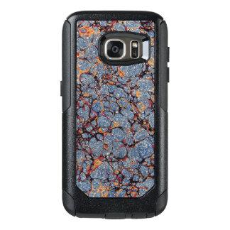 Blauwe MarmerEndpaper OtterBox Samsung Galaxy S7 Hoesje