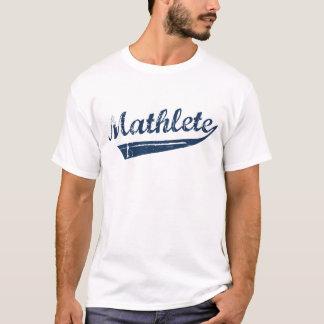 BLAUWE MATHLETE T SHIRT