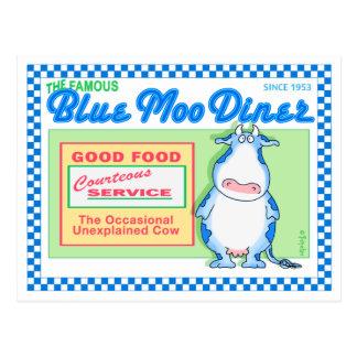 BLAUWE MOO DINER door Boynton Briefkaart